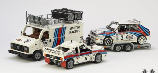 LEGO Lancia Martini Historic Rally Team
