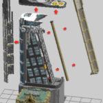 LEGO Modular Avengers Tower