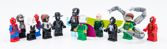 LEGO Spider-Man 2020 minifigures