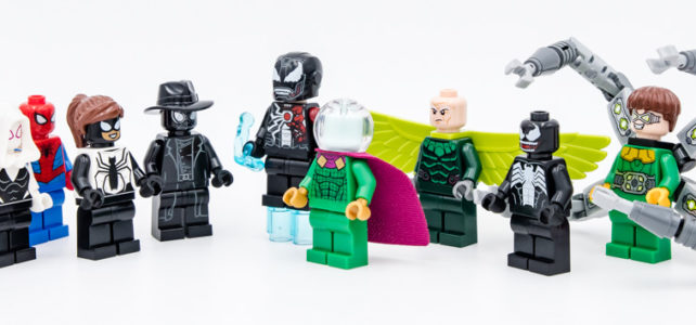 LEGO Spider-Man 2020 minifigures
