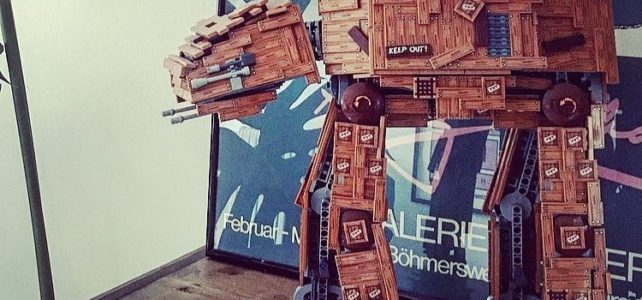 LEGO Star Wars wooden AT-AT