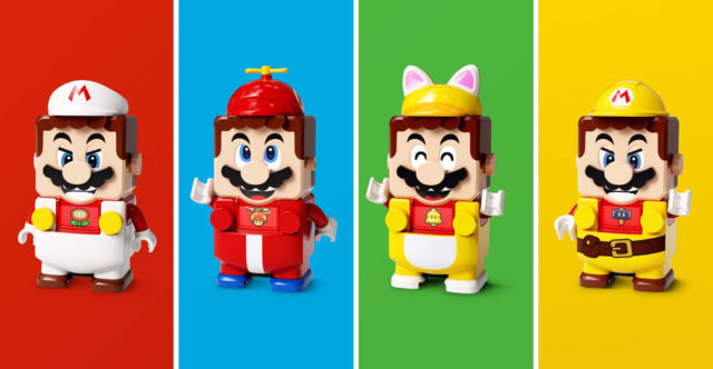 LEGO Super Mario Power Up Packs