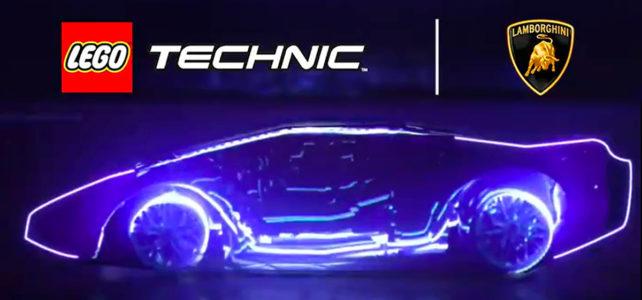 LEGO Technic 42115 Lamborghini Sian teasing