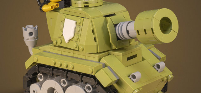LEGO Tiny Tank
