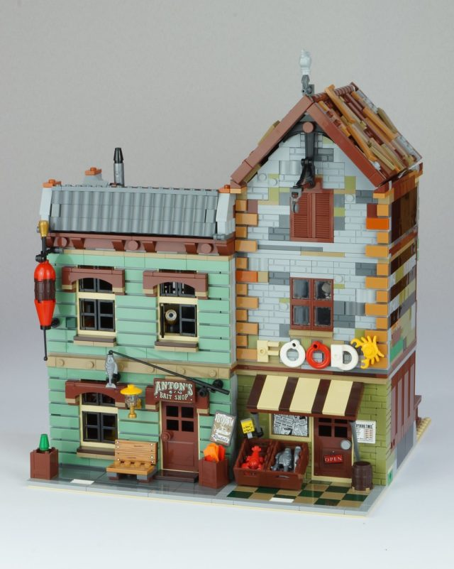 Modular alternatif LEGO Ideas 21310 Old Fishing Store