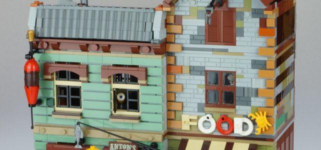 Modular alternatif LEGO Ideas 21310 Old Fishing Store