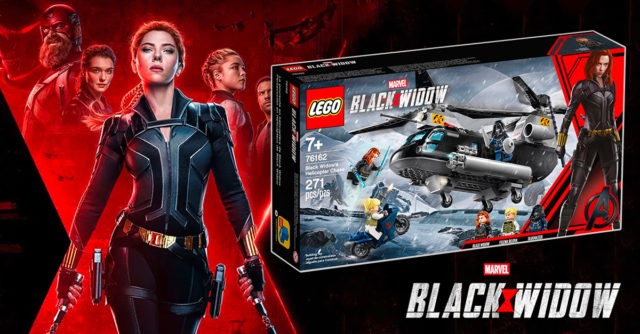 REVIEW LEGO 76162 Black Widow