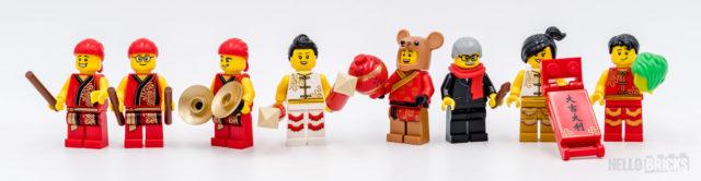 REVIEW LEGO 80104 Lion Dance