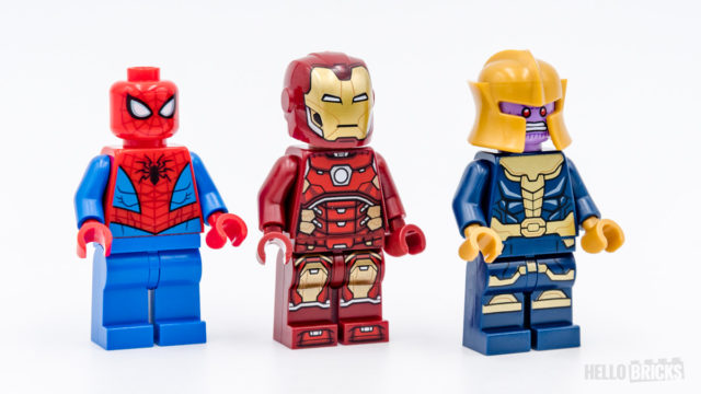 REVIEW LEGO Marvel 76140 76141 76146 minifigures