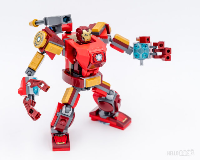 REVIEW LEGO Marvel 76140 Iron Man Mech