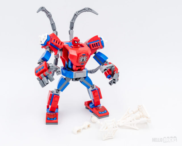REVIEW LEGO Marvel 76146 Spider-Man Mech