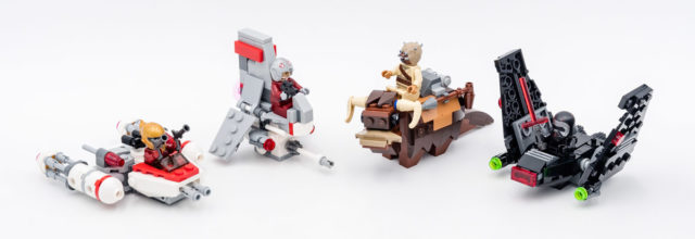 REVIEW LEGO Star Wars Microfighters 2020