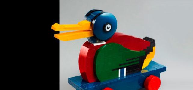 LEGO 40501 Wooden Duck