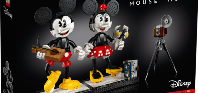 LEGO 43179 Disney Mickey Mouse & Minnie Mouse Buildable Characters : l'annonce officielle !