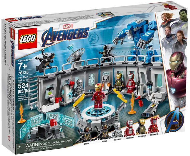 LEGO 76125 Iron Man Hall of Armor