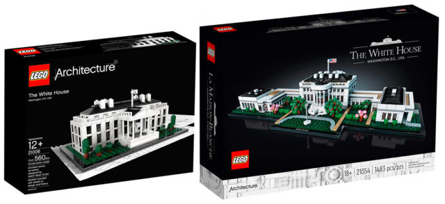 LEGO Architecture White House 21006 21054
