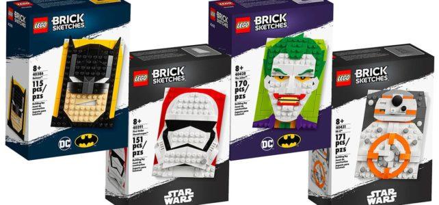 LEGO Brick Sketches