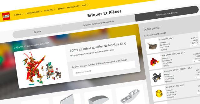 LEGO Briques et pièces