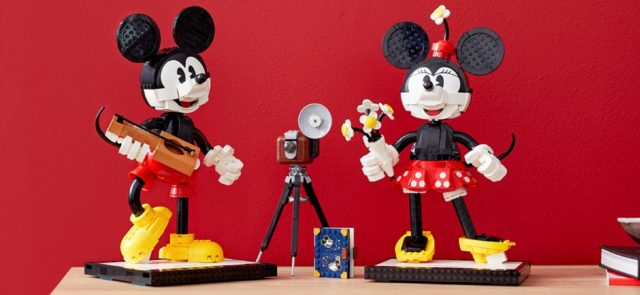 LEGO Disney 43179 Mickey Mouse & Minnie Mouse