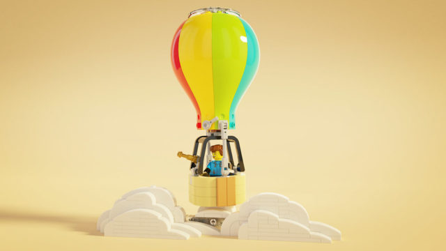 LEGO Hot Air Balloon Montgolfière