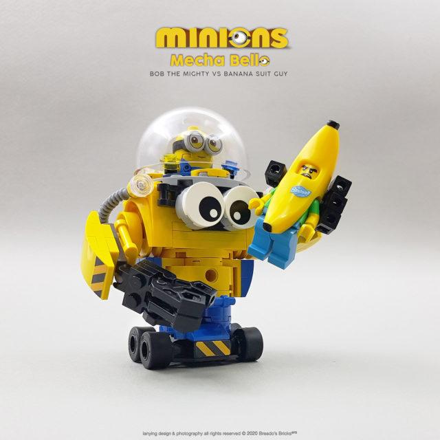 Minions Mecha Bob banana
