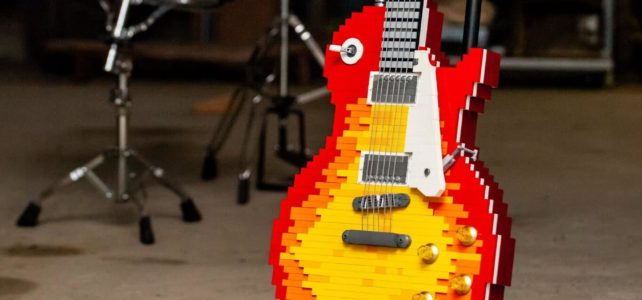Guitare LEGO Gibson Les Paul Standard