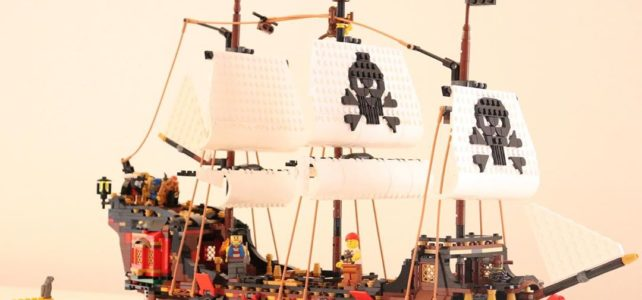 LEGO 31109 extended Pirate ship