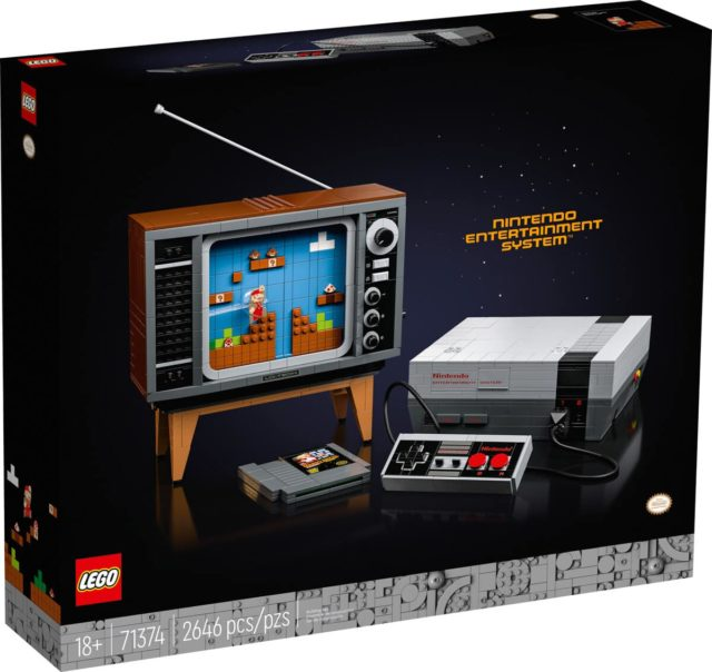 LEGO 71374 Nintendo Entertainment System NES