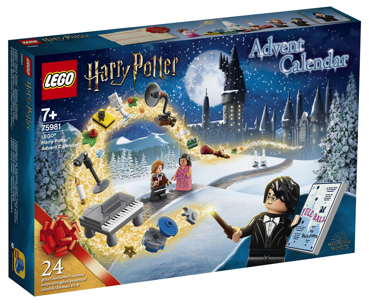 Calendriers de l'avent 2020 LEGO City, Friends et Harry Potter