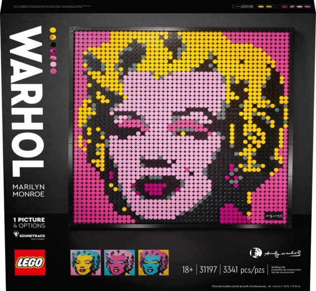 LEGO Art 31197 Marilyn Monroe