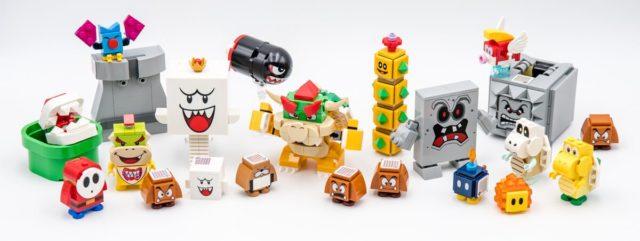 LEGO Mario villains