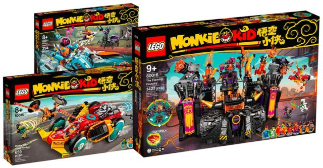 LEGO Monkie Kid 80014 80015 80016