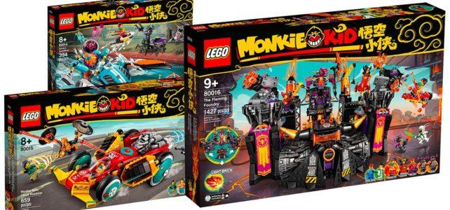 LEGO Monkie Kid 80014 80015 80016