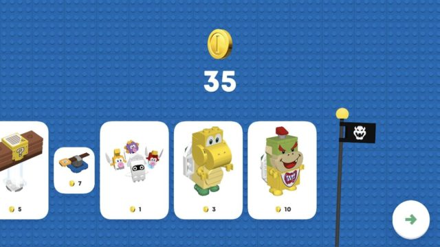 LEGO Super Mario app end