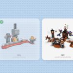 LEGO Super Mario app sets