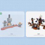 LEGO Super Mario app sets