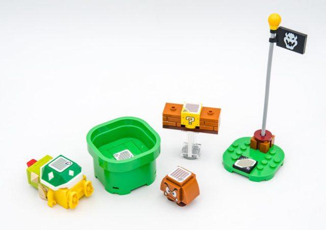 LEGO Super Mario codes-barres