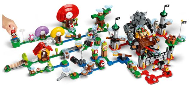 LEGO Super Mario extensions