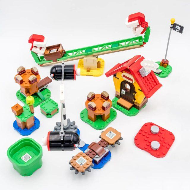 LEGO Super Mario segments