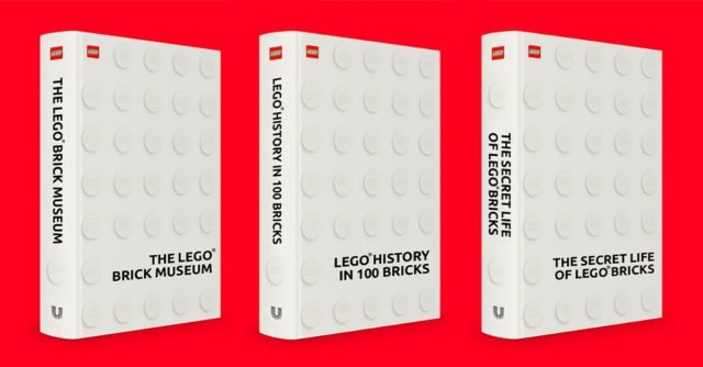 LEGO ideas books AFOL