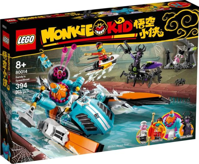 LEGO 80014 Monkie Kid Sandy's Speedboat