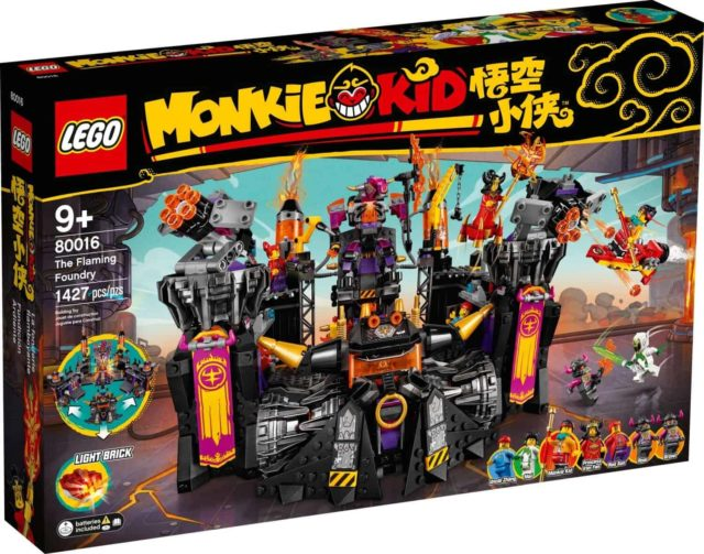LEGO 80016 Monkie Kid The Flaming Foundry