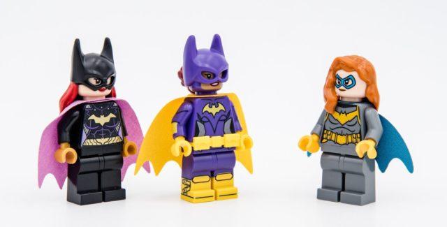 LEGO Batgirl evolution