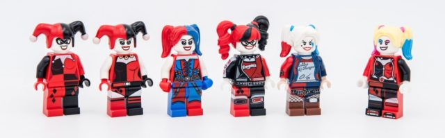 LEGO Harley Quinn evolution