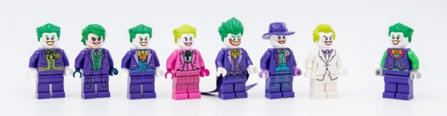 LEGO Joker evolution