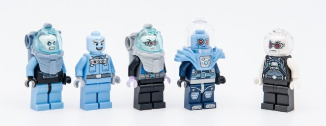 LEGO Mr Freeze evolution