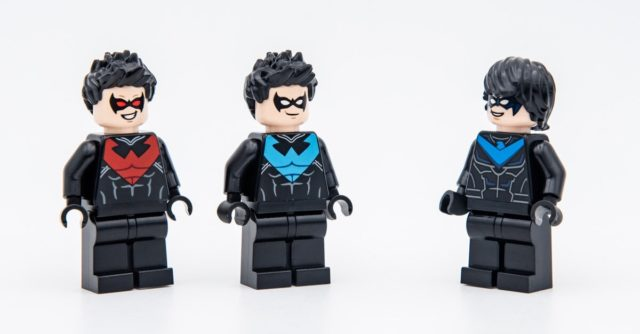 LEGO Nightwing evolution