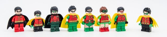 LEGO Robin evolution