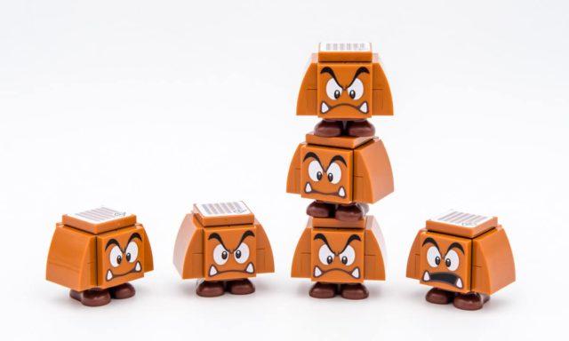 LEGO Super Mario Bowser Goombas