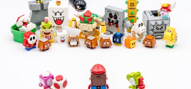 LEGO Super Mario characters